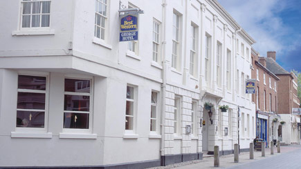 Hotel Escape for Two at The George Hotel, Staffordshire