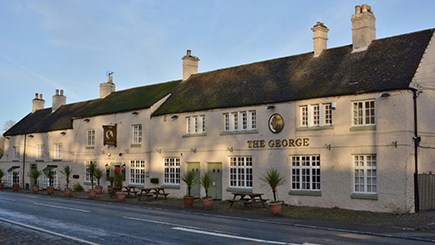 Hotel Escape for Two at George Hotel at Piercebridge
