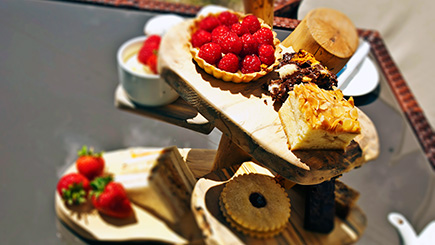 Afternoon Tea for Two at The Green House Hotel