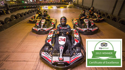 Electric Karting for Two in West London
