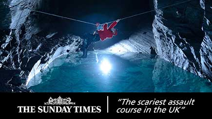 Go Below Underground Adventure Break for Two