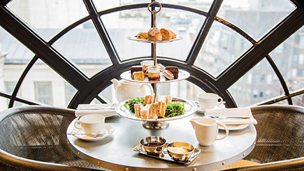 Champagne Afternoon Tea for Two at Hotel Gotham, Manchester