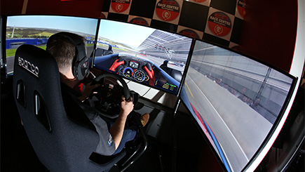 Junior Motor Racing Simulator Party