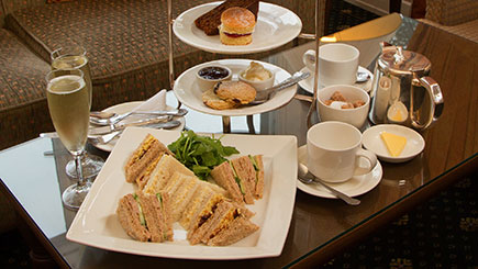 Champagne Afternoon Tea for Two at Grinkle Park