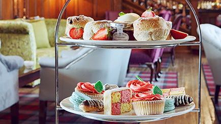 Luxury Afternoon Tea for Two at Greenwoods Hotel and Spa