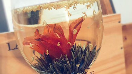 Flowering Jasmine Tea for Two at The Grove