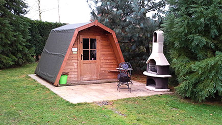 Two Night Camping Pod Break for Two in Shropshire