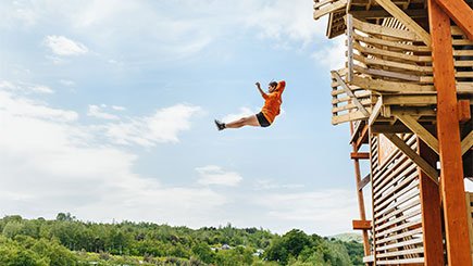 Adrenaline Day Plus for Two at The Eden Project