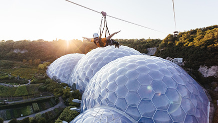 Radical Activity Day for Two at The Eden Project