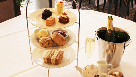 Champagne Afternoon Tea for Two at Harte and Garter Hotel