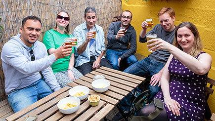 Craft Beer and Cultural Walking Tour of Bristol for Two