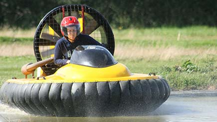 One-to-one Hovercraft Thrill