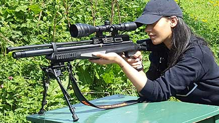 Air Rifle Shooting For One in Leicestershire