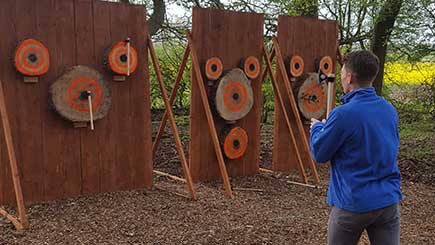 Axe Throwing For One in Leicestershire