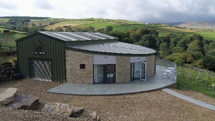 Vineyard Tour, Wine Tasting And Afternoon Tea For Two At Holmfirth Vineyard