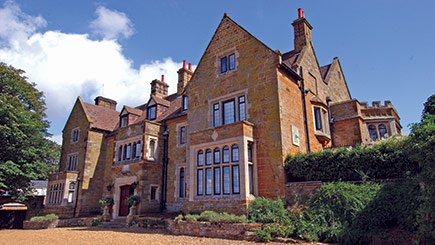 Hotel Escape with Dinner for Two at Highgate House, Northamptonshire