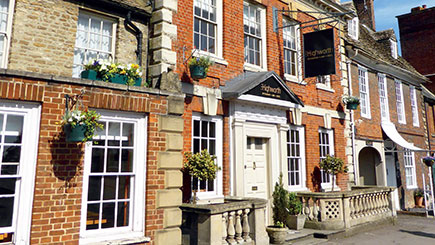 Sparkling Afternoon Tea for Two at The Highworth Hotel, Wiltshire