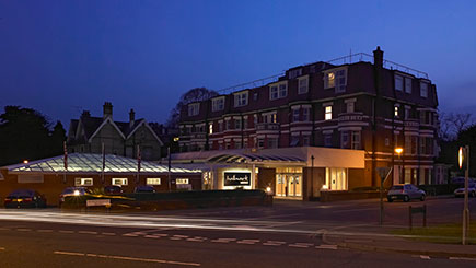 Hotel Escape with Dinner for Two at Bournemouth West Cliff Hotel