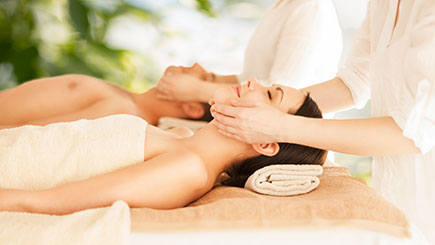 Indulgent Spa Day with Four Relaxing Treatments for Two, Corby