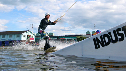 Kayaking On The Sea