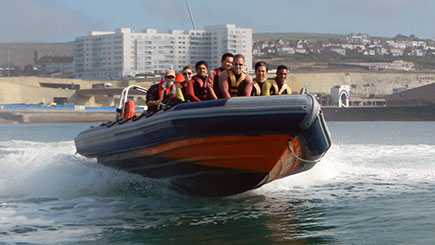 RIB Powerboating Blast for Two in Brighton