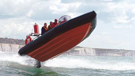 Rib Powerboating Blast In Brighton