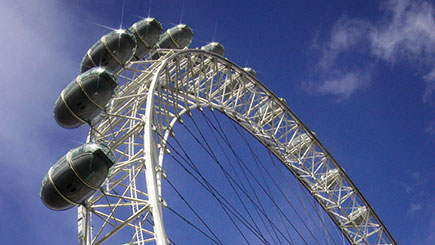 London Eye and Afternoon Tea at H10 Sky Bar for Two, London