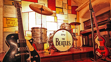 Beatles Story Liverpool And Three-course Meal With Wine For Two