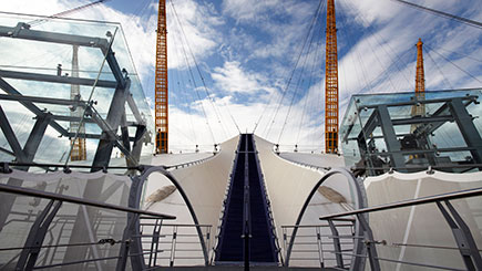 Up At The O2 And Three Course Lunch At Cabana For Two