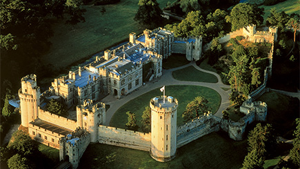 Warwick Castle And Afternoon Tea For Two