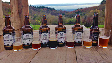 Brewery Day and Beer Tasting at Hillside Brewery, Gloucestershire