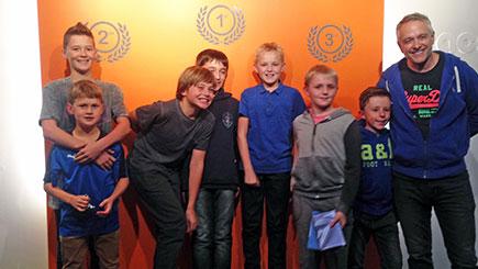 Junior Motor Racing Simulator Party in Oxford