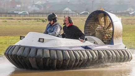 Hovercraft Racing Blast in Cheshire for One