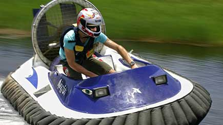 Ultimate Hovercraft Racing in Cheshire