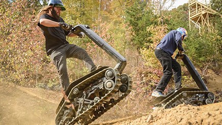All-Terrain DTV Shredder Experience in Cheshire