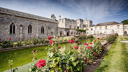Castle Escape for Two with Dinner at Hazlewood Castle
