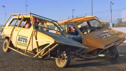 Stunt Car Auto Circus in Birmingham