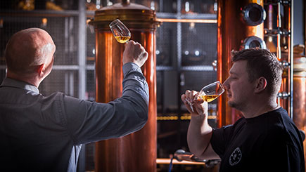 Whisky Connoisseur Experience at Bimber Distillery