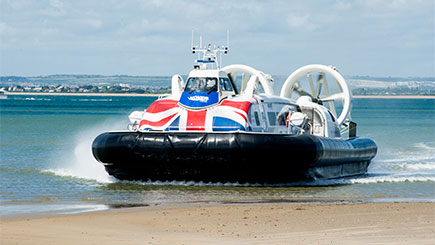 Isle of Wight Hovercraft Adventure for Two