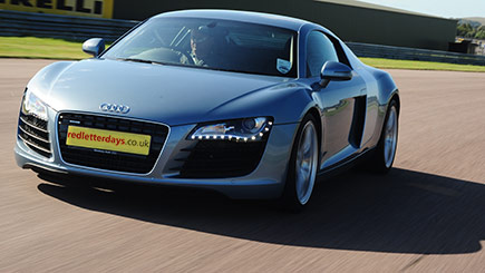 Audi R8 Thrill At Thruxton