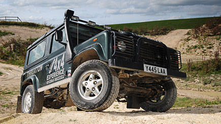4x4 Driving Experience at Thruxton