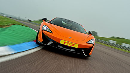 McLaren 570S Thrill at Thruxton