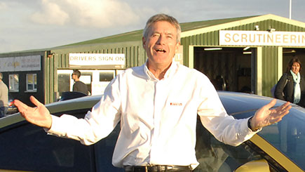 Tiff Needell Hot Ride and Jaguar F-Type Thrill at Thruxton