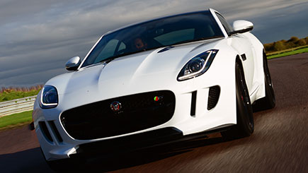Jaguar F-Type Thrill at Thruxton