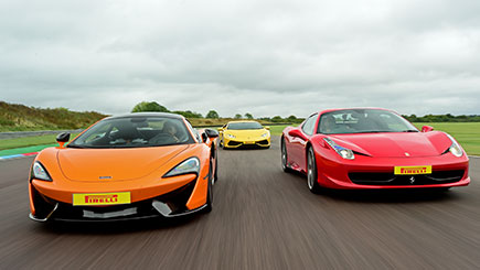 Awesome Foursome Driving at Thruxton
