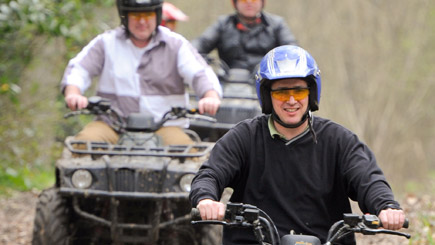 Quad Bike Safari in Kent