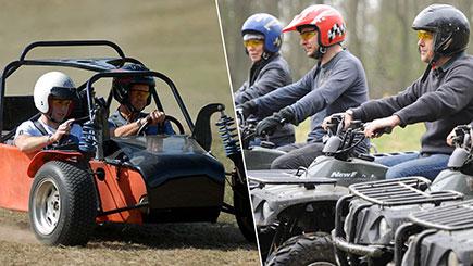 Quad Biking and Apache Rally Driving