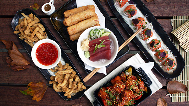 Unlimited Sushi And Asian Tapas For Two At Inamo