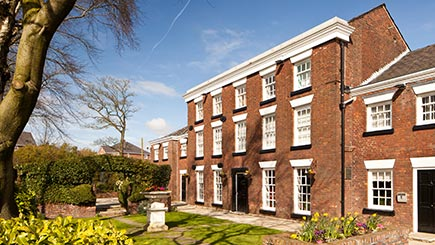 Hotel Escape with Dinner for Two at Mercure Bolton, Georgian House Hotel