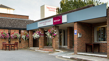 Hotel Escape for Two at Mercure Maidstone Great Danes Hotel
